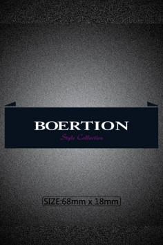 B1113博尔顿 T恤衫  尺寸:1.8*6.2布标