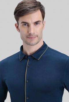 男士大乐透倍投计算新款长袖-B5-2161