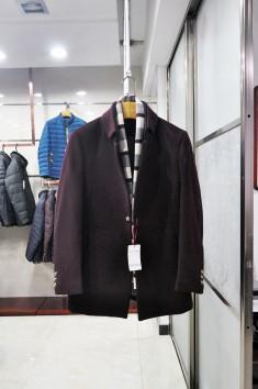 男士伟德国际娱乐城外套商务羊毛大衣-YZ1505