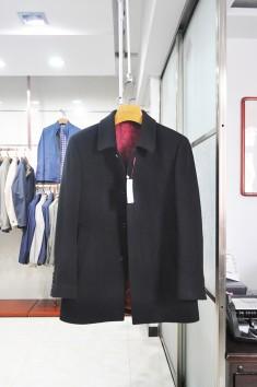 男士高品质翻领羊毛大衣-Y15102