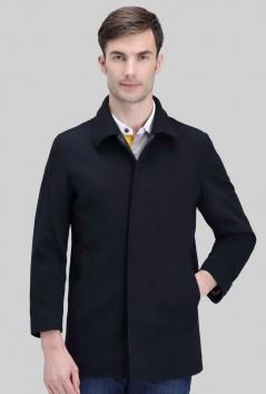 男士秋冬高品质羊毛大衣-F1368