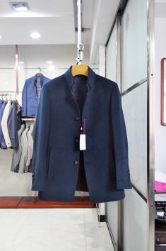男士羊毛商务时尚外套-Y15001