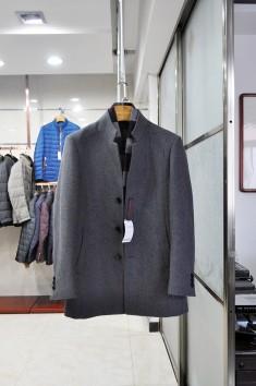 男士betvictor12伟德官网时尚羊毛大衣外套 -Y15589