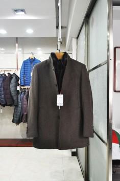 男士秋冬新款羊毛大衣-Y1616
