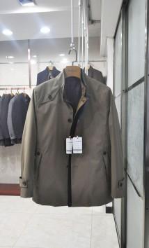 男士立领 春夏新品 休闲风衣-H1655