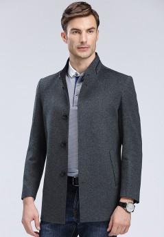 秋冬新款羊毛大衣Y8805