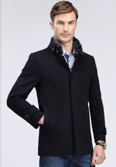 秋冬新款獭兔羊毛大衣YL8806