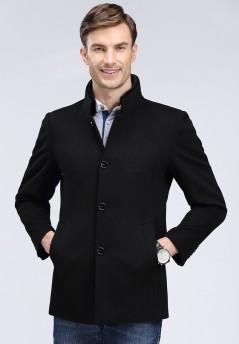 秋冬新款水貂羊毛大衣Y8623