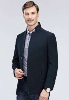 男士大乐透倍投计算新款羊毛大衣-Y15012
