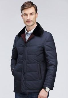 博尔顿秋冬新款獭兔羽绒服M868161
