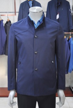男士 春装新品 立领风衣-DF7075