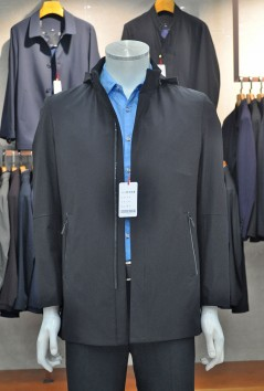 F1813  伟德国际1946伟德国际娱乐城betvictor12伟德官网修身简约帽版风衣