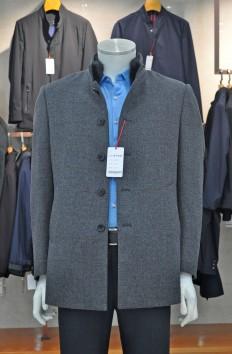 Y6501  博尔顿秋冬新款水貂羊绒大衣