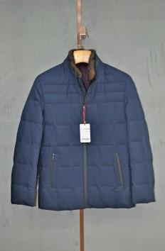 A8766   博尔顿秋冬新款立领时尚水貂羽绒服