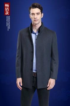 Y8766  博尔顿秋冬新款时尚修身水貂羊毛