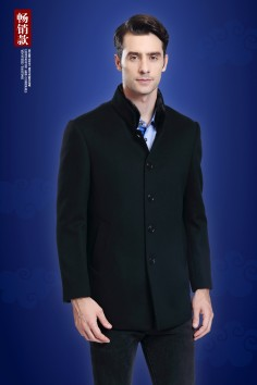 Y8707  博尔顿秋冬新款时尚修身水貂羊毛
