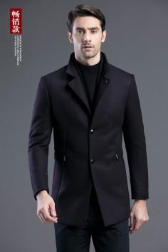 Y17015   博尔顿秋冬新款时尚羊毛休闲大衣