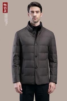 A8799   博尔顿秋冬新款时尚修身水貂羽绒服