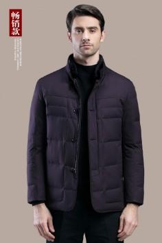 AY7702   博尔顿秋冬新款时尚立领水貂羽绒服