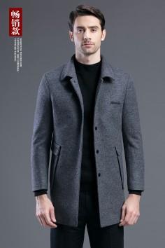 Y8680    博尔顿秋冬新款羊毛休闲大衣