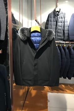 A8852   博尔顿秋冬新款高端狐狸毛领羽绒服