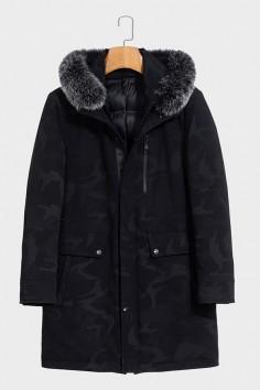A88177    博尔顿秋冬新款时尚狐狸毛领羽绒服