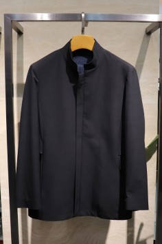 JY1808   博尔顿秋装新款时尚立领派克