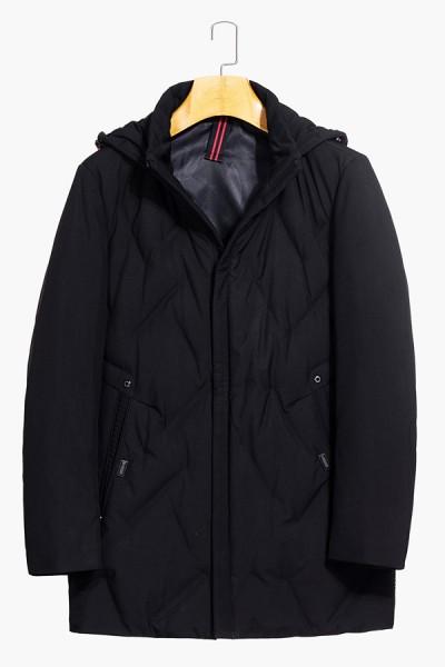 A8858      博尔顿秋冬新款时尚帽款羽绒服