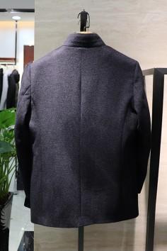 YM8819   博尔顿秋冬新款高端水貂羊毛大衣