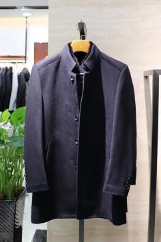 YM8829     博尔顿香港神算资料新款高端水貂羊毛大衣