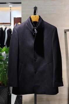 Y8873    博尔顿秋冬新款高端水貂羊毛大衣