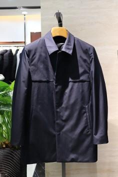 A9177   博尔顿香港神算资料新款修身翻领羽绒服