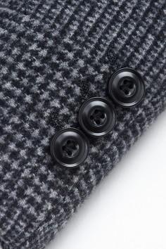 YM8836    博尔顿秋冬新款时尚大格羊毛大衣