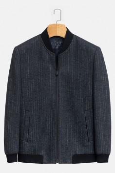 YM8840     博尔顿香港神算资料新款时尚羊毛夹克