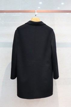 Y1837双面呢羊毛男士中长大衣冬季新款实力商家品质优选