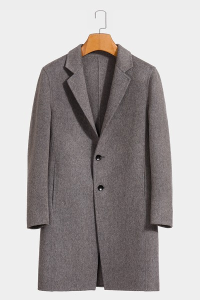 1886A 阿尔巴卡男士羊毛大衣实力商家品质优选