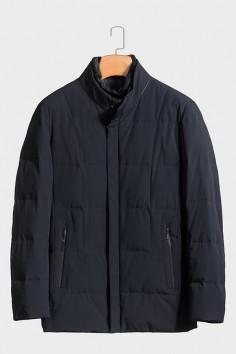 A5966 伟德国际1946水貂立领防风保暖修身羽绒服实力商家品质优选