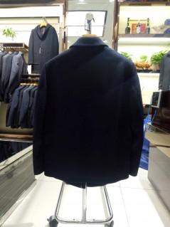 Y818006羊毛羽绒大衣