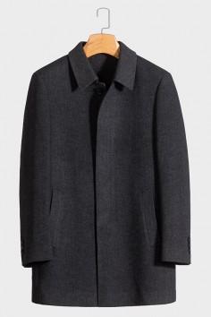 Y818003 香港神算资料羊毛大衣品质优选