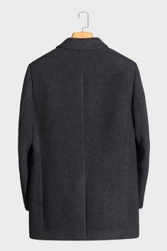Y818003 伟德国际娱乐城羊毛大衣品质优选