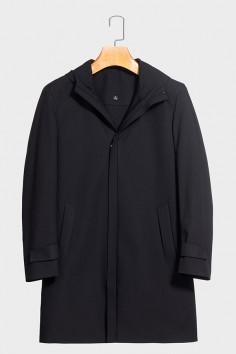 A1963男式冬季中长款防风羽绒服