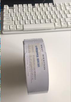 A10098博尔顿纸板合格证:型号:45*100* 每卷:300个