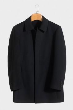 Y1802羊毛羽绒大衣活里活面