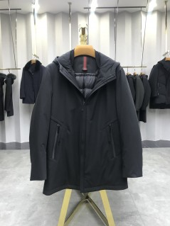 AZ8812男式连帽休闲羽绒服工厂直销品质优选