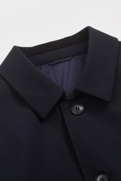 M51911  翻领中长款棉服