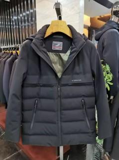 A19563 冬季 2019 可拆卸帽子 羽绒服