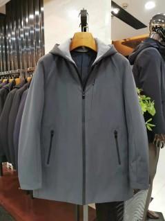 HC89126 冬季 2019 不可拆卸帽子 羽绒服