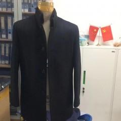 Y85105 秋冬 2019 水貂毛领 羊毛夹克