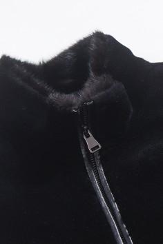 6Y1539 伟德国际娱乐城 2019 水貂领 羊毛配皮 羽绒服