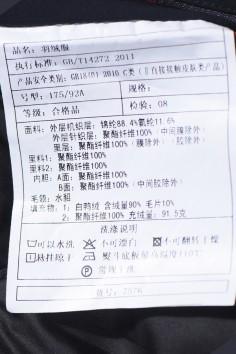A7576  2019年秋冬新款活里活面水貂羽绒服